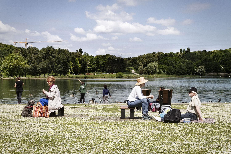 Patrimoine, le Parc Georges Valbon (ex-Parc de la Courneuve).